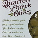 Trader Joe's Greek Olives Quartet