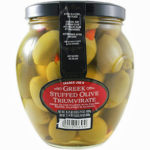 Trader Joe's Greek Stuffed Olive Triumvirate