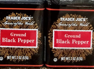 Trader Joe's Ground Black Pepper