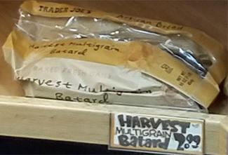 Trader Joe's Harvest Multigrain Batard Bread