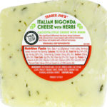 Trader Joe's Italian Bigonda Cheese with Herbs