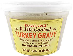 Trader Joe's Kettle Cooked Turkey Gravy