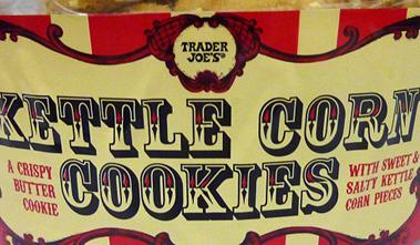 Trader Joe's Kettle Corn Cookies