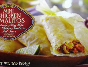 Trader Joe's Mini Chicken Tamalitos