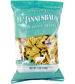 Trader Joe's O Tannenbaum Crispy Potato Snacks