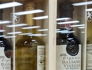 Trader Joe's Organic Balsamic Vinegar of Modena and Extra Virgin Olive Oil Set