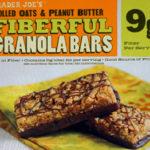 Trader Joe's Rolled Oats & Peanut Butter Fiberful Granola Bars