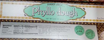 Trader Joe's Phyllo Dough