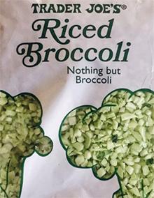 Trader Joe's Riced Broccoli