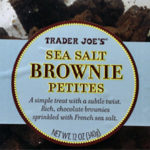 Trader Joe's Sea Salt Brownie Petites