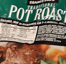 Trader Joe's Traditional Pot Roast
