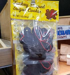 Trader Joe's Turkey-Shaped Sugar Cookie