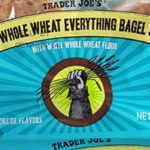 Trader Joe's 100% Whole Wheat Everything Bagel Slims