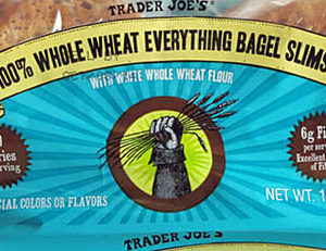 Trader Joe's 100% Whole Wheat Everything Bagel Slims