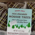 Trader Joe's Mini Chocolate Mousse Trees