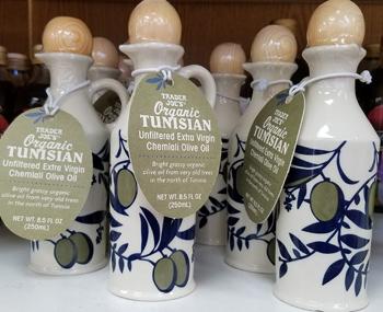 Trader Joe's Organic Tunisian Unfiltered Extra Virgin Chemlali Olive Oil
