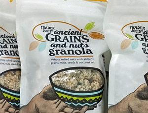 Trader Joe's Ancient Grains and Nuts Granola