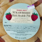 Trader Joe's Strawberry Rhubarb Pie