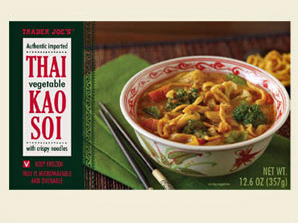 Trader Joe's Thai Vegetable Kao Soi