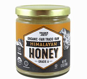 Trader Joe's Organic Raw Himalayan Honey