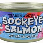Trader Joe's Sockeye Salmon
