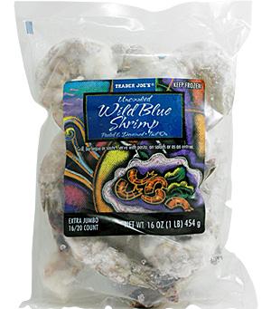 Trader joe 39 s uncooked wild blue shrimp reviews trader for Trader joe s fish