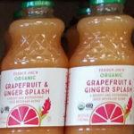 Trader Joe's Organic Grapefruit & Ginger Splash