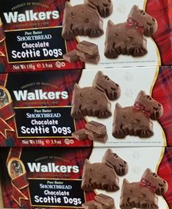 Walkers Shortbread Chocolate Scottie Dogs