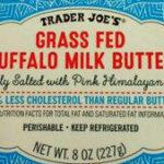 Trader Joe's Grass Fed Buffalo Milk Butter