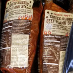Trader Joe's Coffee Rubbed Beef Flank Steak