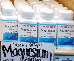Trader Joe's Magnesium Supplement