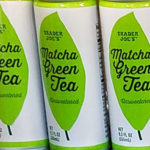 Trader Joe's Matcha Green Tea Cans