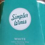 Simpler Wines White