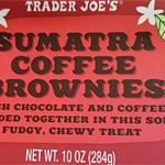Trader Joe's Sumatra Coffee Brownies