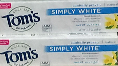 Tom's of Maine Simply White Toothpaste
