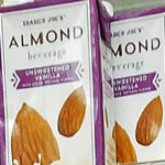 Trader Joe's Unsweetened Vanilla Almond Beverage