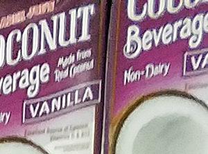 Trader Joe's Vanilla Coconut Beverage