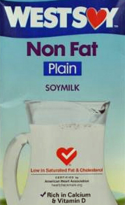 WestSoy Non Fat Plain Soy Milk