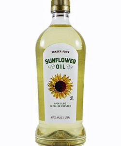 Trader Joe's High Oleic Sunflower Oil