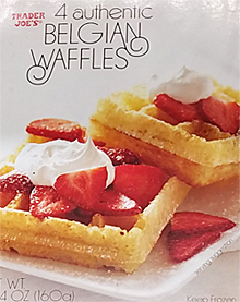 Trader Joe's Authentic Belgian Waffles
