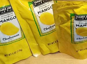 Trader Joe's Dried Chokanan Mango