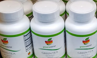 Greens World Green Tea Extract