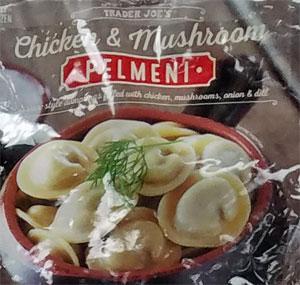 Trader Joe's Chicken & Mushroom Pelmeni