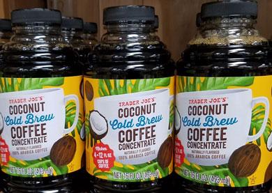Trader Joe's Coconut Cold Brew Coffee Concentrate