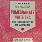 Trader Joe's Organic Pomegranate White Tea with Hibiscus & Lemongrass