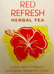 Trader Joe's Red Refresh Herbal Tea