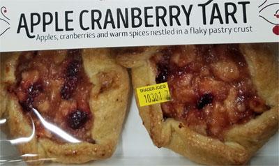 Trader Joe's Apple Cranberry Tart