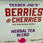 Trader Joe's Berries & Cherries Herbal Tea