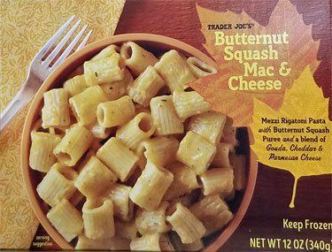 Trader Joe's Butternut Squash Mac & Cheese