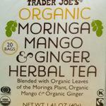 Trader Joe's Organic Moringa Mango & Ginger Herbal Tea